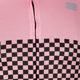 Sportful Checkmate Jersey Men, różowy